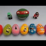 Big Hero 6 Surprise Egg Learn-A-Word! Spelling Vegetables! Lesson 15