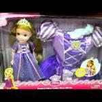 Bonecas Princesas Disney que Cantam Tiana, Belle, Cinderella, Rapunzel Singing Dolls