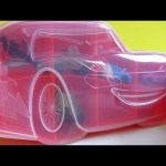 Cars 2 Gomu Erasers Case with 5 collectibler erasers unboxing review Disney Pixar