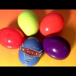 Cars 2 Surprise Eggs Holiday Edition Easter Eggs Matchbox Diecast Sally Lightning McQueen