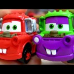 CARS Holiday Pumpkin Mater – Blue Sarge with Flames Race Rods Mini Adventures Disney Pixar