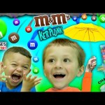 Chase's Corner: FALLING M&M's Challenge w/ Anthony from DINGLE HOPPERZ (#37) | DOH MUCH FUN Kerplunk
