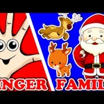 Christmas Finger Family Song For Kids   Xmas Surprise Eggs Animation for Children   Nursery Rhymes