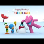 Christmas with Pocoyo: Playing with the snow! (1/3)