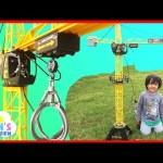 Construction Vehicles Fast Lane Mega Crane Bruder Cement Mixer Truck Disney Cars Toys