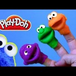 Cookie Monster Hand Puppets Play Doh – How to Make Playdough Sesame Street Elmo Ernie
