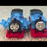 Crash & Repair Thomas the train  motorized Trackmaster train review unbox play