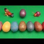 Disney Cars Surprise Egg Learn-A-Word! Spelling Food! Lesson 31