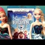Disney Frozen Dolls Blu-Ray DVD Disney Infinity Princess Anna Elsa Figurines Play Doh