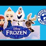 Disney FROZEN Mystery Minis Surprise Boxes Vinyl Figures NEW Princess Anna Elsa Kristoff Vinylmation