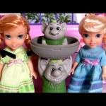 Disney Frozen Petite Surprise Trolls Gift Set Princess Anna Elsa Toddler Dolls Playset