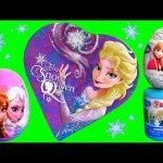 Disney Frozen Snow Queen Elsa Valentine's Day Surprise Eggs FASHEMS, Blind Bag Toys