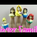 Disney Princess Finger Family Song