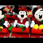 Disney singing Minnie plush toy Christmas 2011