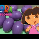 Dora the Explorer Surprise Eggs