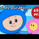 E Is for Earth | Earth Is Our Home and More | Nursery Rhymes from Mother Goose Club!