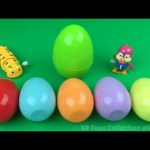 Fun Learn Fruit Name with Surprise Eggs, Disney Frozen Surprise Egg and Wind Up Toys