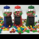 Gumball Machines!!! Candy Machines Gum Balls Machine mini vending machines ガムボールマシーン M&M's