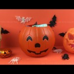 Halloween Pumpkin Surprise Basket, Toys Opening Minnie Mouse SpongeBob Angry Birds Iron Man Minions