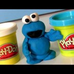 How to Make Cookie Monster Play Doh NEW TOY Sesame Street Disney The Muppets ALL with Playdough