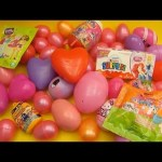 Huge 50 Surprise Egg Opening for GIRLS!  Kinder Surprise Disney Princess Minnie Mouse Dora