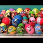 Huge Toy Surprise Eggs Planes Skylanders AngryBirds Thomas Batman Superman Kinder Disney by Funtoys