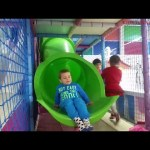 Kids playing at  indoor playground. Funny video from KIDS TOYS CHANNEL