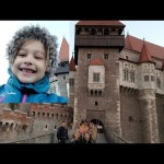 Kids ride to a real castle. Educational fun for kids . Video from KIDS TOYS CHANNEL