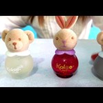 Kids toys video for girls. Kaloo Perfume Magic Kit surprise with  scented caps