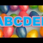 Kinder Surprise Egg Learn-A-Word! Full Alphabet (Teaching Spelling & Letters Unwrapping Eggs & Toys)