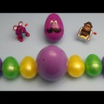 Kinder Surprise Egg Learn-A-Word! Spelling Arts and Crafts Words! Lesson 7