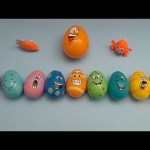 Kinder Surprise Egg Learn-A-Word! Spelling Creepy Crawlers! Lesson 4