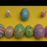 Kinder Surprise Egg Learn-A-Word! Spelling Easter Words! Lesson 2