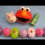 "Kinder Surprise Egg Learn-A-Word! Spelling Food ""Lesson C"" (Teaching Letters Opening Eggs & Toys)"