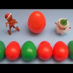 Kinder Surprise Egg Learn-A-Word! Spelling Holiday and Christmas Words! Lesson 10