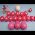 Kinder Surprise Egg Learn-A-Word! Spelling Valentine's Day Words! Lesson 11
