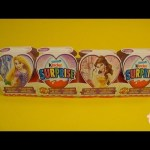 Kinder Surprise Eggs Disney Princess Train Valentine Toys Unboxing & Opening