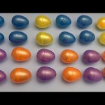 Learn Patterns with Surprise Eggs!  Opening Surprise Eggs filled with Toys! Lesson 20