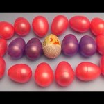 Learn Shapes and Counting with Surprise Eggs! Opening Eggs filled with Toys Candy and Fun! Part 3