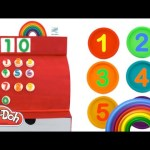 Learn to Count 1-10 with Play Doh Peppa Pig Inside Out MLP Incredibles Minions RainbowLearning