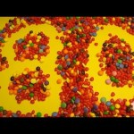 Learn To Count 1 to 80 with Candy Numbers! Surprise Eggs with Smarties Skittles and Candy Hearts