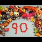 Learn To Count 1 to 90 with Toys and Candy Numbers!