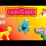 LION GUARD Disney Lion Guard Bunga + Kion Lion Guard Video New Toys