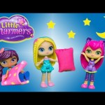 LITTLE CHARMERS Nickelodeon Little Charmers Slumber Party Sleepover Surprise Video Parody
