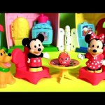 Magic of Disney Mickey and Minnie's House Playset with Pluto from Little People Disney Baby Toys
