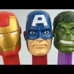 Marvel Avengers PEZ Dispensers And Marvel Avengers Surprise Heads