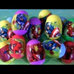 Marvel Easter Eggs Unwrapping The Avengers Iron Man, Captain America, Adventures of Spider-Man