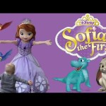 Michael Meets Sofia the First, His FAVORITE Character, For the First Time
