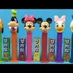 Mickey Mouse Clubhouse Pez Dispensers Pluto Goofy Minnie Mouse Mickey Mouse Daisy Duck Donald Duck