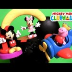 Mickey Mouse Fly 'n Slide Clubhouse Playset with Peppa Pig & Minnie Mouse by Disneycollector